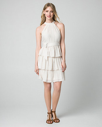 Ghost Gauze Halter Dress