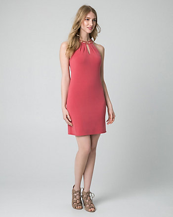 Knit Halter Tunic Dress