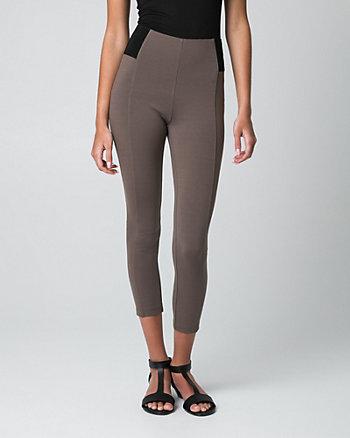 Ponte Skinny Leg Crop Pant