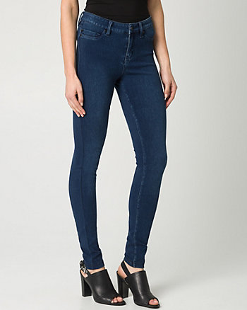 Stretch Denim Skinny Leg Pant