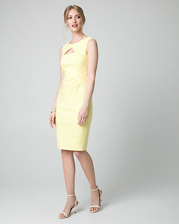 Tech Cutout Shift Dress
