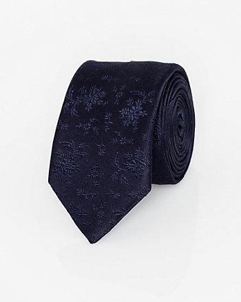 Italian-Made Silk Skinny Tie
