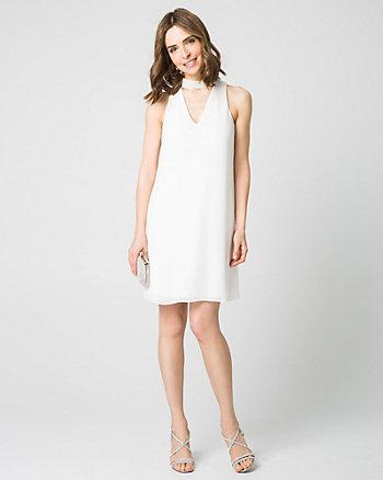 Crêpe Chiffon Cocktail Dress