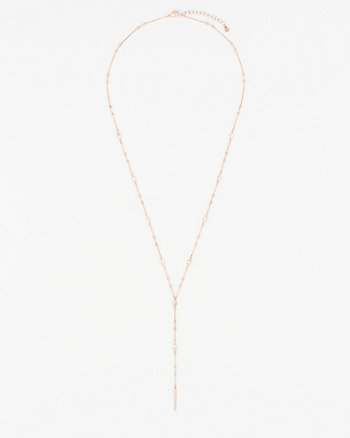 Gemstone Y-Necklace