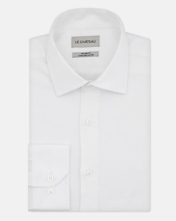 Tonal Piqué Tailored Fit Shirt