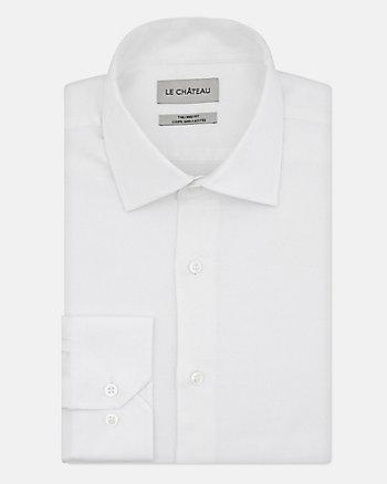 Chemise de coupe semi-ajustée en piqué