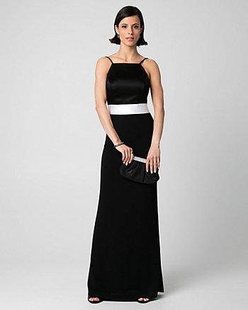 Tricoteen Halter Gown