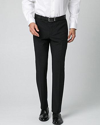 Tropical Wool Straight Leg Pant