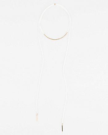 Adjustable Choker Necklace