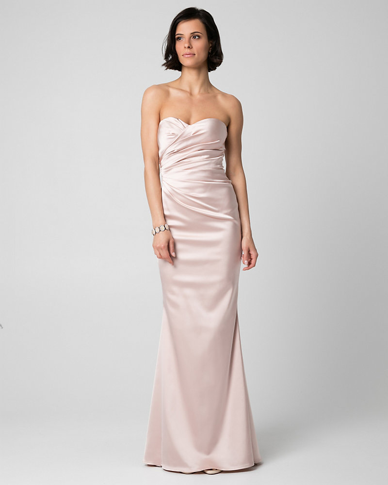 Satin Sweetheart Gown   LE CHÂTEAU