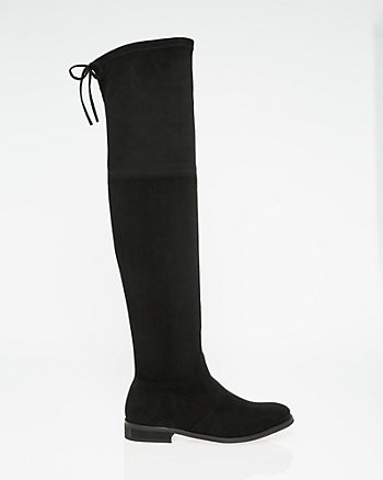 Suede-Like Over-the-Knee Boot