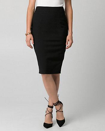 Gabardine Pencil Skirt