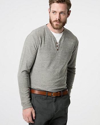 Chandail en tricot coupé-cousu