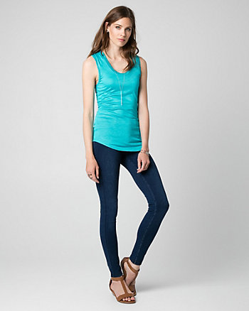 Essential Jersey Scoop Neck Tank Top