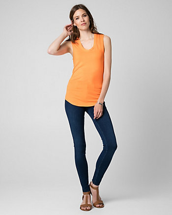 Essential Jersey Scoop Neck Tank