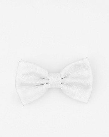 Tonal Paisley Microfibre Bow Tie
