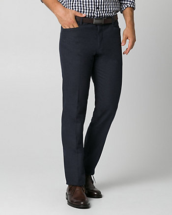 Tonal Stretch Twill Straight Leg Pant