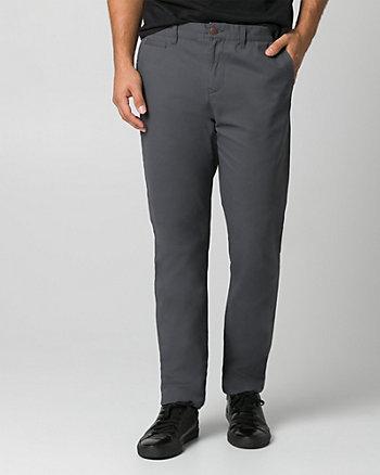 Pantalon en sergé de coton brossé