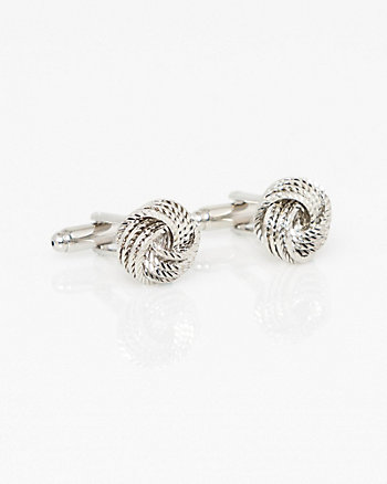 Metal Knot Cufflinks