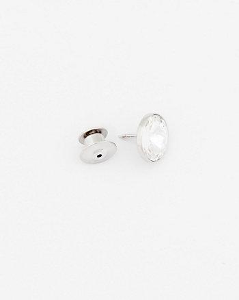 Stone Lapel Pin
