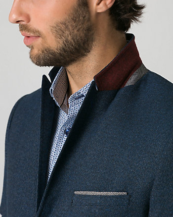 Tonal Tweed City Fit Blazer
