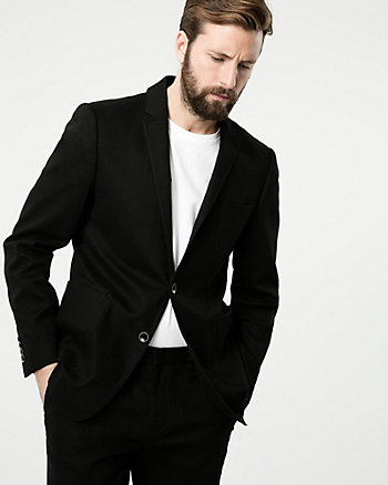 Cotton Blend Executive Fit Blazer