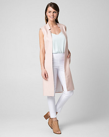 Lyocell Inverted Collar Vest