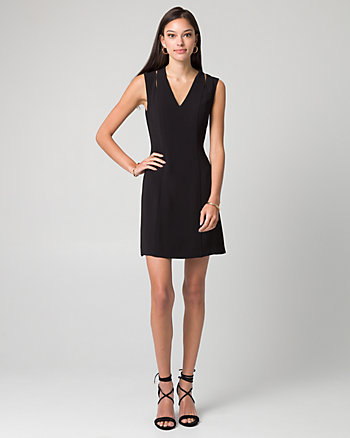 Tricoteen V-Neck Tunic Dress