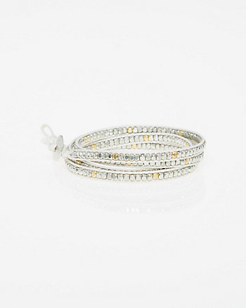 Rivet Wrap Bracelet