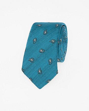 Cravate en mélange de soie faite en Italie