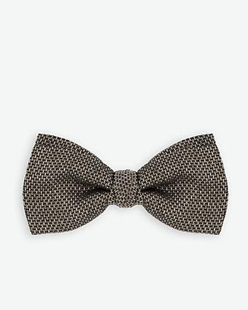Italian-Made Silk Blend Bow Tie