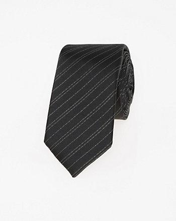 Italian-Made Silk Blend Skinny Tie