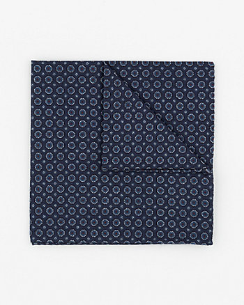 Italian-Made Cotton Pocket Square