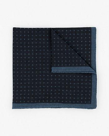 Mouchoir de poche en laine fait en Italie