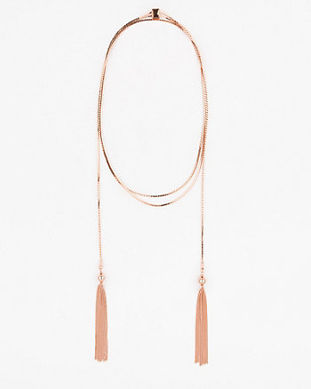Tassel Metal Necklace