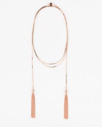 Tassel Metal Necklace