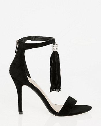 Velvet Tassel Sandal