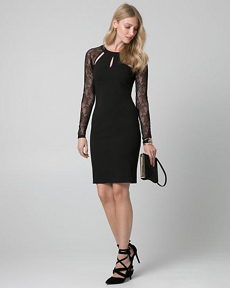 Le chateau long black dress