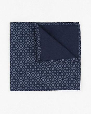 Novelty Print Cotton Pocket Square