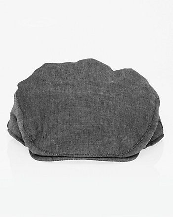 Cotton Denim Ivy Cap