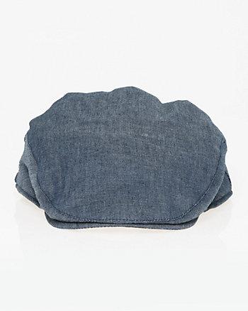 Cotton Denim Ivy Cap