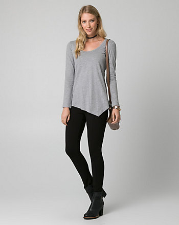 Jersey Asymmetrical Top