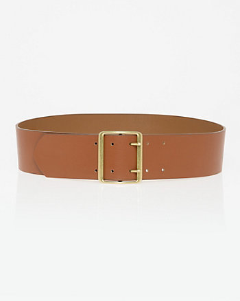 Leather-Like Prong Belt