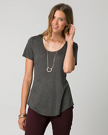 Modal Scoop Neck Top