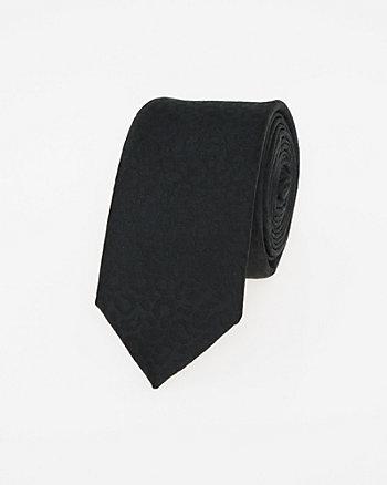 Animal Print Microfibre Tie