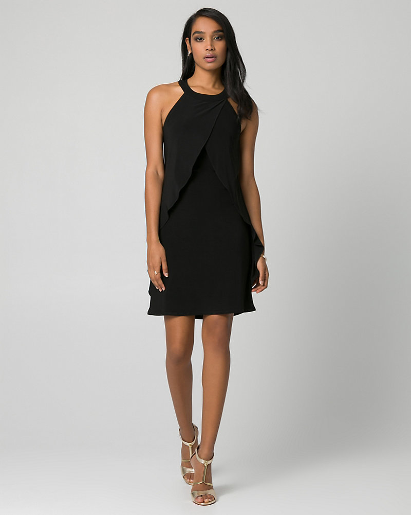 501808285e9 Knit Halter Cocktail Dress