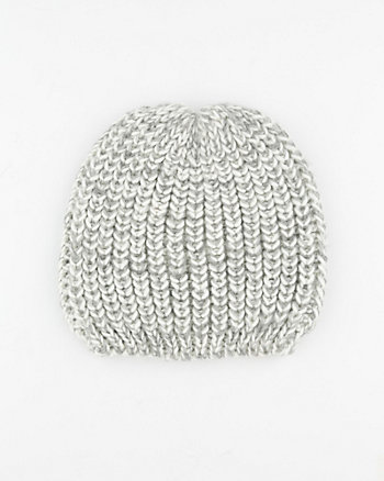 Two-Tone Knit Hat