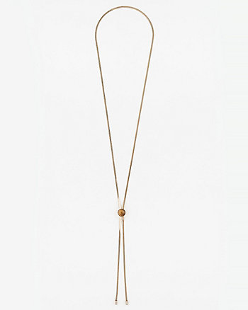Chain Slider Y-Necklace