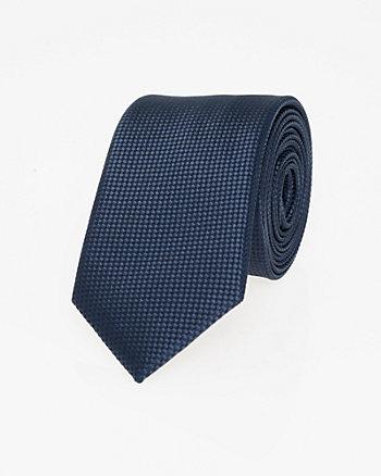 Tonal Microfibre Skinny Tie