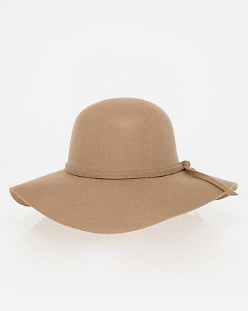 Wool Wide Brim Floppy Hat